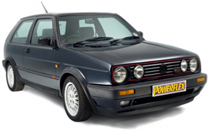 Powerflexbussningar VW Golf MK II 2WD (1985-1992)