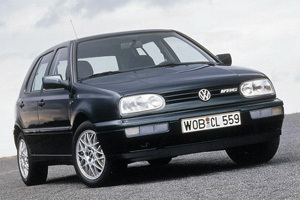 Powerflexbussningar VW Golf MKIII 4WD Syncro (1993 - 1997)