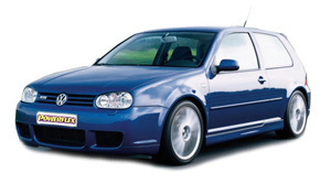Powerflexbussningar VW Golf MK IV R32/4Motion