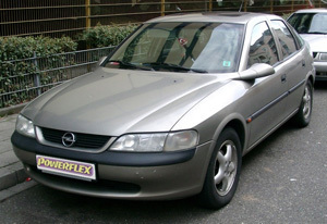 Powerflexbussningar Opel Vectra B  (1995-2002)