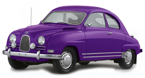 Powerflexbussningar SAAB 96 (1960-1979)