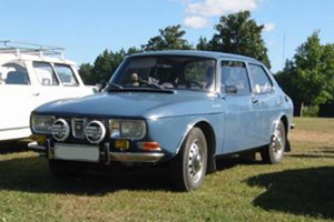 Powerflexbussningar SAAB 99 (1970-1974)