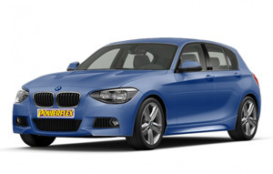 Powerflexbussningar BMW Serie 1 F20, F21 XDRIVE