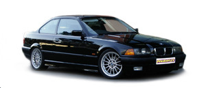 Powerflexbussningar BMW Serie 3 E36 (1990-1998)