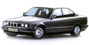Powerflexbussningar BMW Serie 5 E34 (1988-1996)