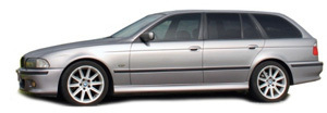 Powerflexbussningar BMW Serie 5 E39 520-530 Touring (1996-2004)