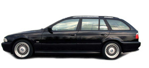 Powerflexbussningar BMW Serie 5 E39 540 Touring (1996-2004)
