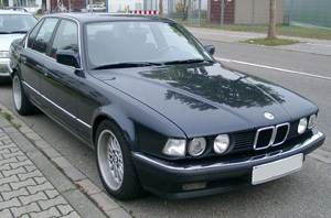 Powerflexbussningar BMW Serie 7 E32 (1988-1994)