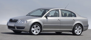 Powerflexbussningar Skoda Superb (2002-2008)
