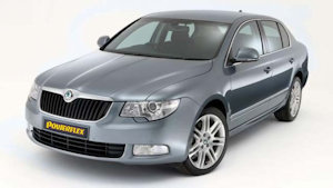 Powerflexbussningar Skoda Superb (2009-2011)
