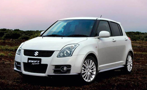 Powerflexbussningar Suzuki Swift-Sport (ZC31S) (2007-2010)