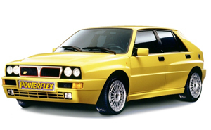 Powerflexbussningar Lancia Integrale 16V (1989-1994)