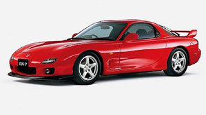 Powerflexbussningar Mazda RX-7 Generation 6,7,8 (1992-2002)