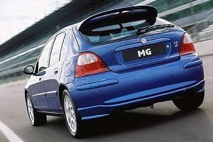 Powerflexbussningar MG ZR (2001-2005)