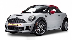 Powerflexbussningar Mini R58 Coupe (2011-2015)