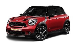 Powerflexbussningar Mini Countryman R60 4WD (2010-2016)
