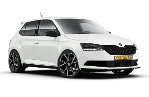 Powerflexbussningar Skoda Fabia NJ (2014-)