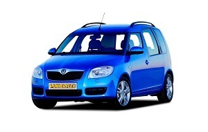 Powerflexbussningar Skoda Roomster (2006-2008)