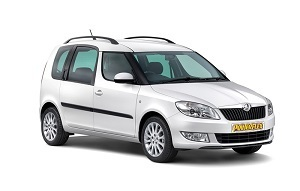 Powerflexbussningar Skoda Roomster (2009-2015)