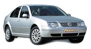 Powerflexbussningar VW Jetta MK4 4 Motion (1999-2005)