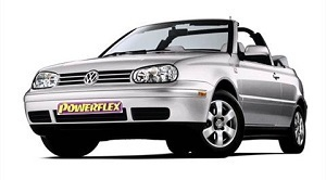 Powerflexbussningar VW Golf MK IV Cabrio (1997-2004)