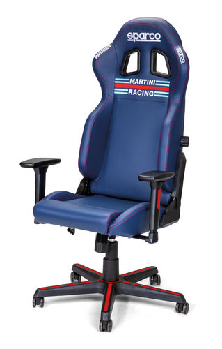 Sparco Gamingstol Martini Racing
